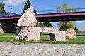 Dobrichovice stones at bridge.jpg