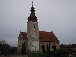 Dobromerice kostel sv Matouse.JPG