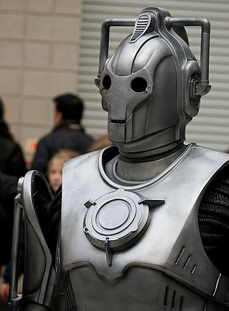 A Good Man Goes to War - The Cybermen that appear in the episode are intended to be from Mondas, rather than the parallel Earth previously seen. This can be seen by the logo which is now a round circle rather than a C.
