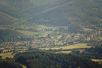 Dolní Loučky - Air wiev