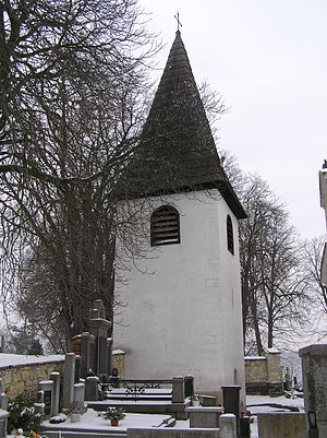 Domoušice - Image: Domoušice zvonice