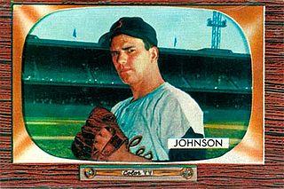 Don Johnson (pitcher) former Major League Baseball pitcher