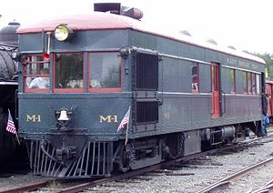 East Broad Top Railroad and Coal Company - M-1 doodlebug
