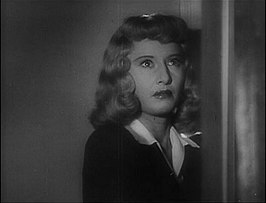 Stanwyck in Double Indemnity