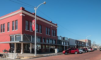 Canyon, Texas - Downtown Canyon, Texas