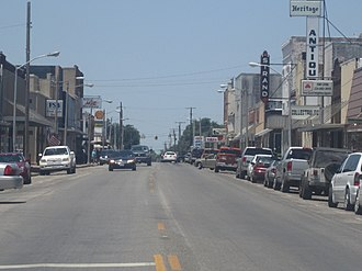 Marlin, Texas - Downtown Marlin (2012)