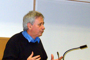 Ilan Pappé - Pappé in a lecture in the Manchester Metropolitan University in 2008
