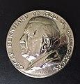 Dr. Med Oscar Bernhard medal 70th birthday.jpg