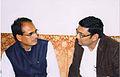 Dr Ujjwal Patni with Chief minister of Madhya Pradesh Shri Shivraj Singh Chouhan.jpg