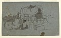 Drawing, An Army Wagon and Mule, ca. 1862 (CH 18173985).jpg