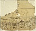 Drawing, An Infantry Column on the March, 1862 (CH 18173873-2).jpg