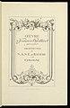 Drawing, Title Page, Oeuvre de François de Cuvilliés père et fils (Works of François de Cuvilliés the Elder and the Younger), n.d. (CH 18242481).jpg