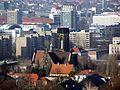 Dresden Lukaskirche vom Bismarckturm in Räcknitz aus.JPG