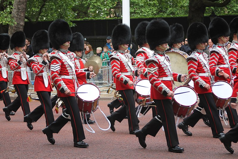 File:Drummers, Trooping the Colour.JPG