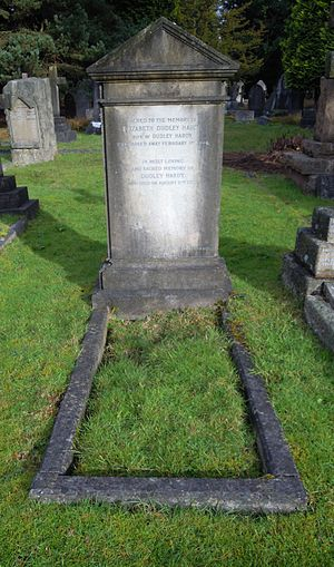 Dudley Hardy - Hardy's grave in Brookwood Cemetery