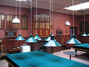 Dunedin Club, New Zealand interior, Billiard Room.jpg