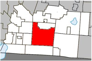 Dunham, Quebec - Image: Dunham Quebec location diagram