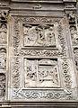 Duomo di genova, cappella di s. giovanni battista, prospetto esterno di domenico ed elia gagini, 08.JPG