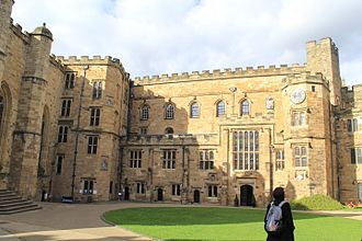 Durham Castle - The original great hall range with later adaptations