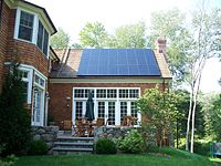 "Sunlight Solar installation and SunPower ""Intelegant"" award winner."
