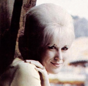 Bouffant -  Swinging London icon Dusty Springfield with a bouffant in 1966.