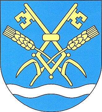 Dvorce (Jihlava District) - Image: Dvorce (okres Jihlava) znak
