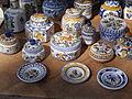 Dwelling house. Listed ID 10480. 'Haban' porcelains. - 22 Batthyány Street, Tihany.JPG