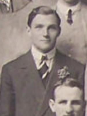 Dyne Fenton Smith - Dyne Fenton Smith with the British Isles team in 1910