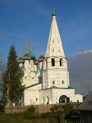 Nizhny Novgorod Oblast - Savior's Church in Balakhna