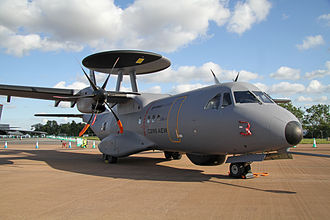 EADS CASA C-295 - C-295 AEW prototype at the Royal International Air Tattoo in 2011