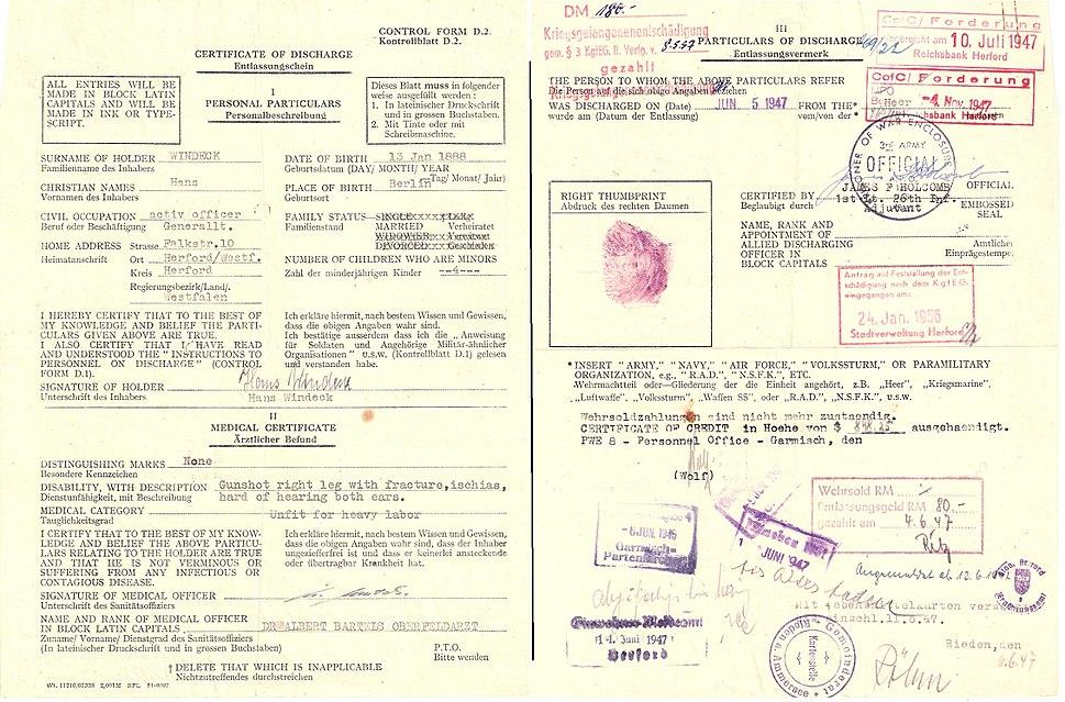 EB-Kriegsgefangenen-Entlassungsausweis