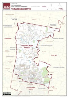 Electoral district of Toowoomba North