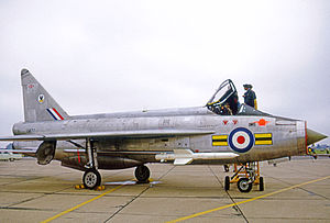 RAF Wattisham - English Electric Lightning F1A of the Wattisham Target Facilities Flight in 1971