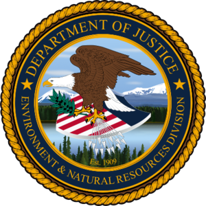 United States Department of Justice Environment and Natural Resources Division - Environment and Natural Resources Division Seal