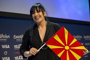 Kaliopi - Image: ESC2016 Macedonia Meet & Greet 05