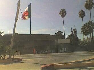 Ensenada Airport - Contigious military facilities at ESE.