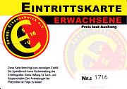 ESV Eintrittskarte