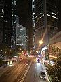 Eagle Street, Brisbane at night.jpg