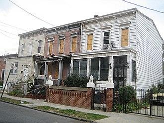 East New York, Brooklyn - Abandoned houses in East New York