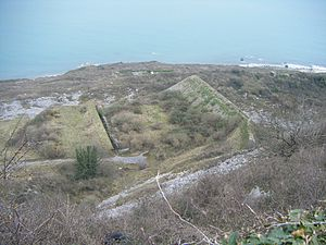 East Weare Rifle Range - Image: East Weares Rifle Range, Portland, Dorset 2