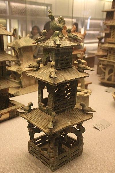 File:Eastern Han Pottery Tower - 9.jpg