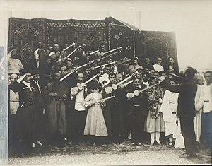 "Congress of the Peoples of the East - An ""Eastern Orchestra"" played for delegates during the September 1920 Baku Congress."