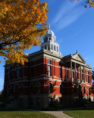 Charlotte, Michigan - Eaton County Courthouse