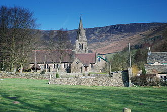Edale - Image: Edale Church