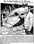 Eddie August Schneider (1911-1940) in the Richfield Reaper of Richfield, Utah on Thursday, March 21, 1935.jpg