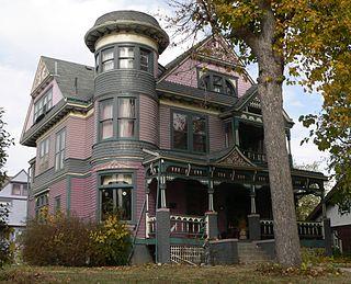 Edgar Zabriskie Residence building in Omaha, Nebraska, United States