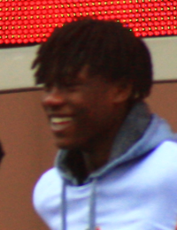 Eduardo Camavinga, in Rennes, after his victory in Coupe de France, April 28th, 2019.png