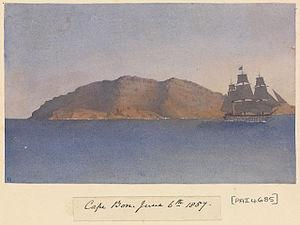 Edward Gennys Fanshawe, Cape Bon, June 6th 1857 (Tunisia).jpg