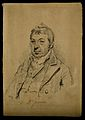 Edward Jenner. Pencil drawing attributed to H. Edridge, 1821 Wellcome V0003096.jpg