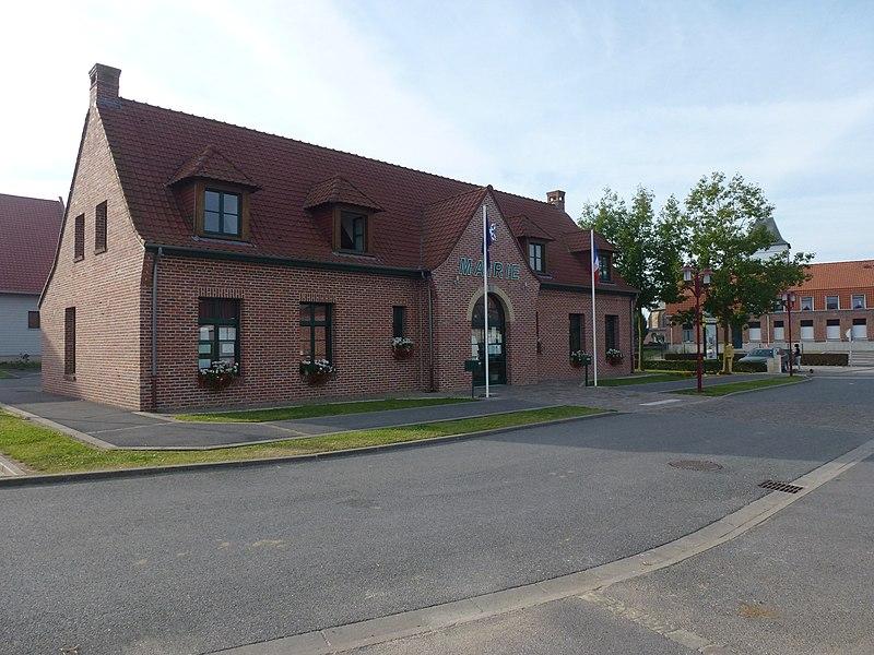 Eecke (Nord, Fr) mairie